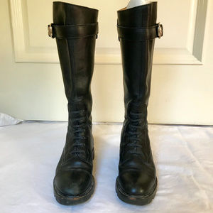Gucci knee high boots
